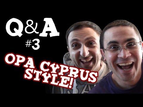 Q&A me ton Nicola Jovani! (Opa Cyprus Style)