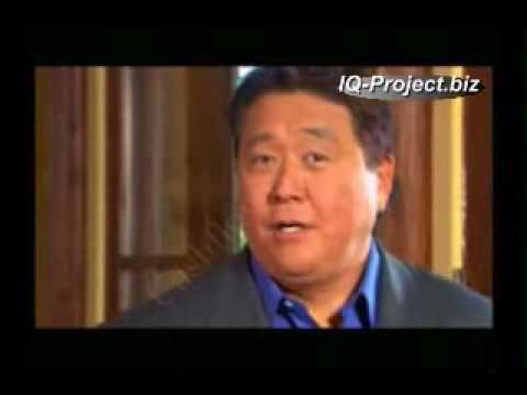 Роберт Кийосаки про сетевой маркетинг. (IQ-Project.biz)
