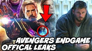 Avengers Endgame Time Travel Officially Confirmed BIG Leak Avengers Infinity War