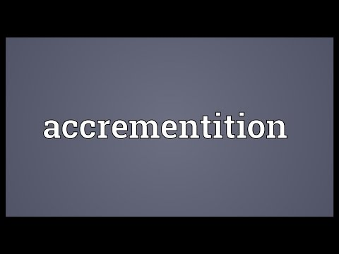 Header of Accrementition