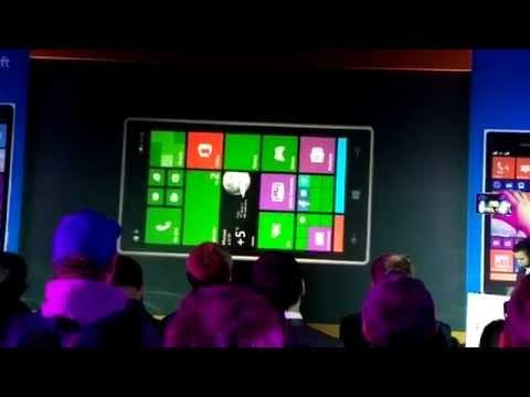 Презентация Nokia Lumia 830 в Москве