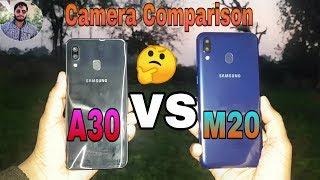 Samsung Galaxy A30 vs Galaxy M20 Camera Comparison?