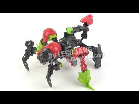 Hero Factory Breakout wave 1 combiner 3: Surge + Splitface