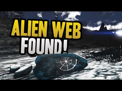 GTA 5: New Mysterious Alien/Spider Web Found In North Yankton! (GTA 5 Easter Eggs)