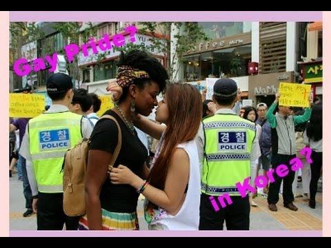 Do Koreans Hate Gay People? My Gay Pride Experience! video