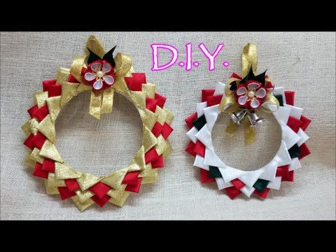 D I Y Satin X Mas Ornament Tutorial Youtube