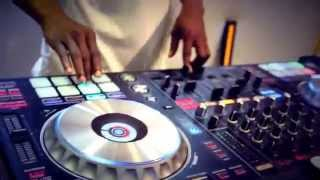 Cool Hip hop Party Mix on DDJ SZ 2014