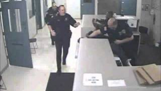 Raw video: Elyria police officer attacked