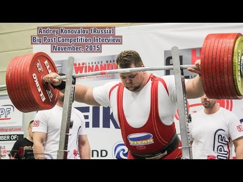 Andrey Konovalov (Russia). Big Post Competition Interview. November, 2015
