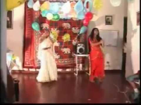 Danza Hindu--10-& ClaraMatos Z.. Saajan Saajan-Dilka Rishta.