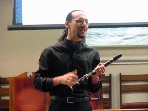 Segunda com Música de Primeira - Recital de Clarineta - 2.1 Primeira Consideração