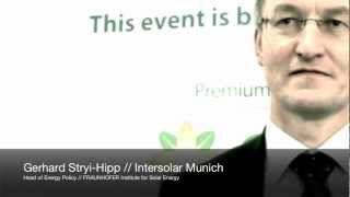 CSUN Media Center: Gerhard Stryi-Hipp/Head of Policy - Fraunhofer Institute for Solar Energy Systems
