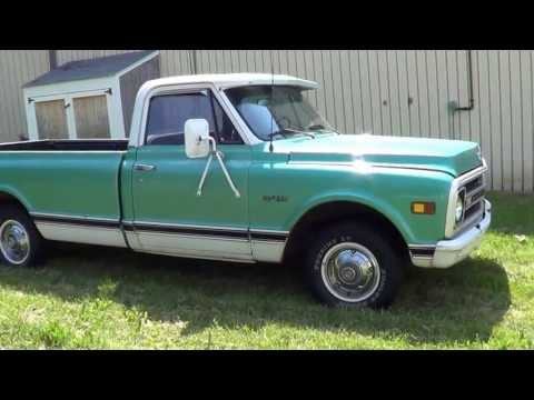 1970 70 Chevrolet C/10 Custom Long Bed Pickup For Sale