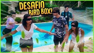 FIZEMOS O DESAFIO DO BIRD BOX E OLHA O QUE ACONTECEU!! [ REZENDE EVIL ]