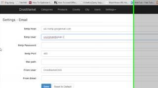 (Lrandomdev.com) How To Config Send Email Use Gmail Smtp Server