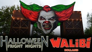 🎃 Walkthrough: Alle scare zones - Halloween Fright Nights 2017 - Walibi Holland 🎃