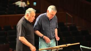 גינס עם כבוד Zubin Mehta Conducting Lesson