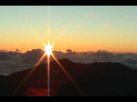 Sunrise at Haleakala Crater on Maui Video