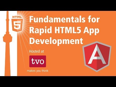 AngularJS Fundamentals for Rapid HTML5 Development