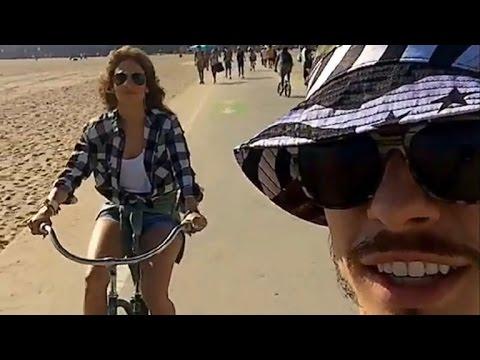 J.Lo & Casper Smart Reunite? Pair Take Adorable Bike Ride Together
