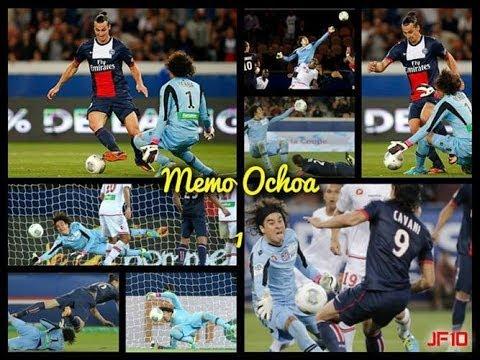 Atajadas de Guillermo Ochoa 2013-2014 Ligue1 -- Francia