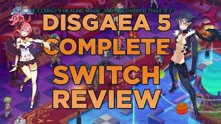 Disgaea 5 Complete Review | Nintendo Switch