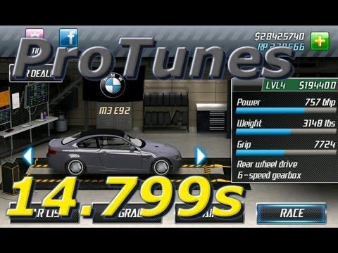 Drag Racing v1.6 BMW M3 14.799