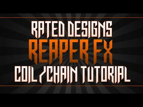 Rated Designs Tutorial Reeper Fx Plugin Coils/Chains In Cinema 4d