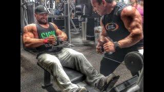 Bodybuilding Motivation | Rich Gaspari and Marc Lobliner Back Training