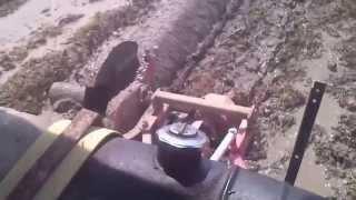 Tractor Batas Tempek Di Sg  2 (Rabu 22 10 2014)