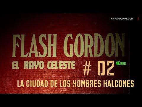 # 02 Flash Gordon Volumen I - La Ciudad de los Hombres Halcones -Español - 4K  Ultra HD