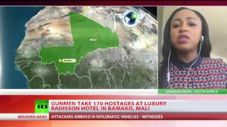 Gunmen take 170 hostages at luxury Radisson hotel in Bamako, Mali