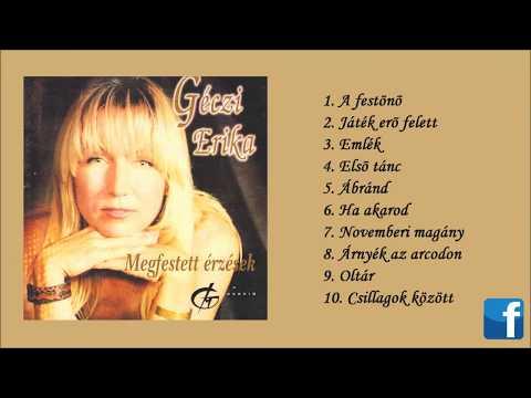 Géczi Erika - Megfestett érzések (2002) - teljes album