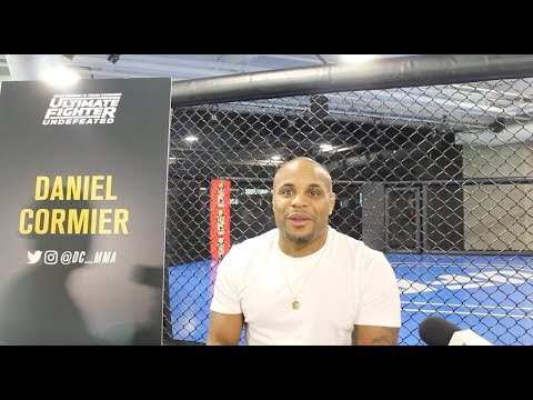 TUF 27 Media Day: Daniel Cormier Scrum