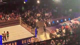 WWE September 12 2016 Baltimore roman reigns entrances