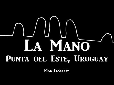 """""""LA MANO"""" by MariLiza in Punta del Este Uruguay"""