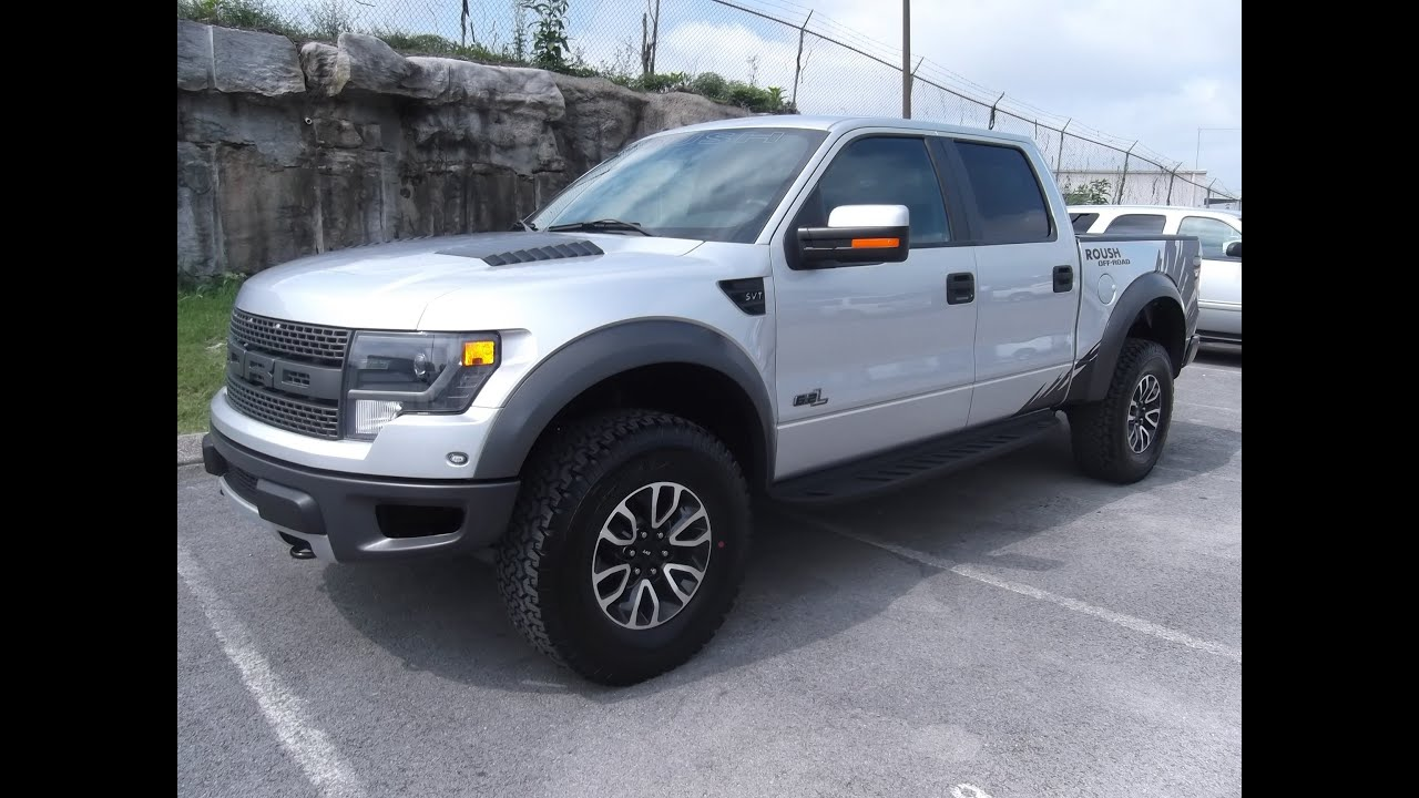 2013 ROUSH RAPTOR INGOT SILVER WITH GRAPHICS AT FORD OF ...