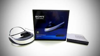 Sony Personal 3D Viewer Unboxing & First Look