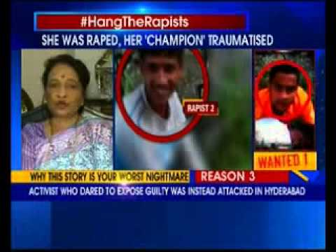 Sunitha Krishnan fighting for justice for girl raped in Hydrabad