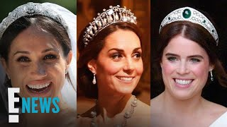 Kate Middleton, Meghan Markle & Princess Eugenie's Tiaras | E! News