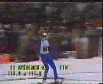 1984 Olympic Large Hill - Matti Nykänen