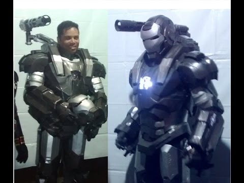Wandrix - Iron Man War Machine Cosplay