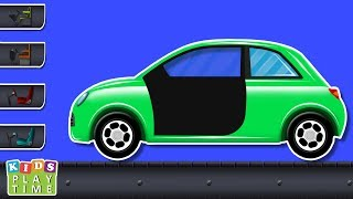 Kids Playtime | Sub Compact Car Makeover | Modification | Advanced Car | video for children