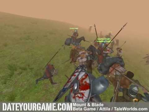 Mount & Blade Cavalry vs 300 infantries