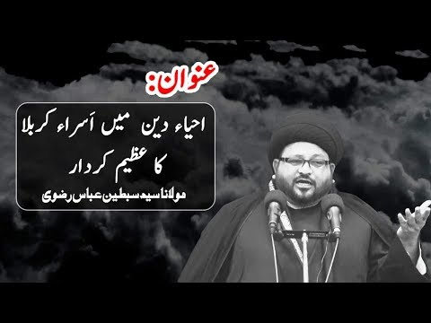 27 Muharram 1441 -  Maulana Syed Sibtain  Abbas Rizvi