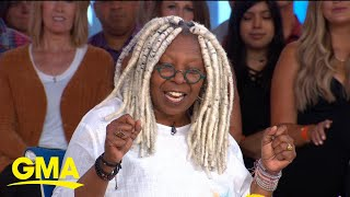 Whoopi Goldberg brings laughs with new book l GMA