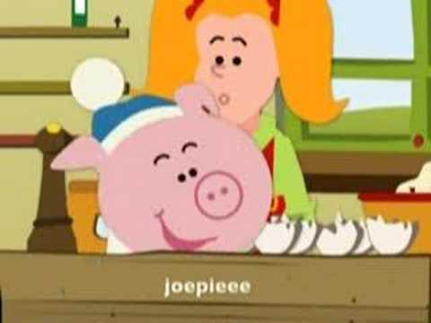 Belgian Farting Pig Cartoon