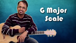 How To Play - G Major Scale - Guitar Lesson For Beginners