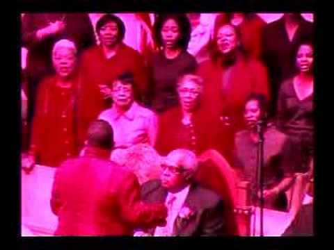 Metropolitan Baptist Church Women of Worship Choir on October 14, 2007 - the day we celebrated First Lady Elizabeth Harrison Hicks on her 30th anniversary wi...