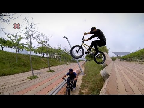 GoPro: Riding Street with Chad Kerley and Mike Escamilla - 2013 Summer X Games Barcelona